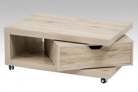 couchtisch eiche mit schublade bestellen bei yatego. Black Bedroom Furniture Sets. Home Design Ideas