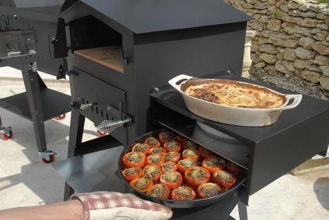 holzbackofen pizzaofen thermometer warmhaltefach fk flamfour 2 kaufen bei eh m bel. Black Bedroom Furniture Sets. Home Design Ideas