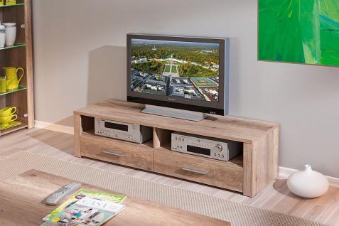 TV Lowboard 2 Farben Sonoma-Eiche Wildeiche Aquilla-9/-10 - Vorschau 2