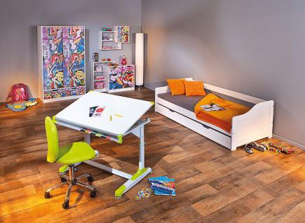 kinder regal wandregal massivholz wei graffiti l graviti 2 kaufen bei eh online shop. Black Bedroom Furniture Sets. Home Design Ideas
