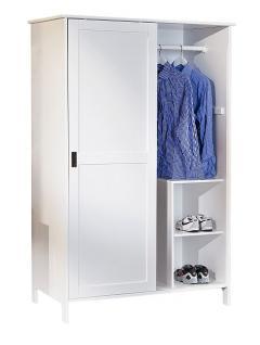 Schrank weiß schiebetüren  Kleiderschrank Schiebetüren Weiß günstig bei Yatego