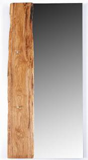 Spiegel Landhausstil Eiche massiv sägerauh 3 Größen AW-Wildtree-S - Vorschau 3