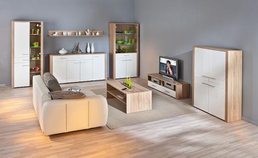 TV Lowboard 2 Farben Sonoma-Eiche Wildeiche Aquilla-9/-10 - Vorschau 4