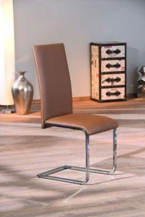 Stuhl Metall weiß schwarz braun Azori Dokat Manta