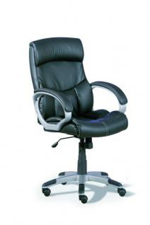 Schreibtischstuhl Bürostuhl schwarz Wippfunktion Berti
