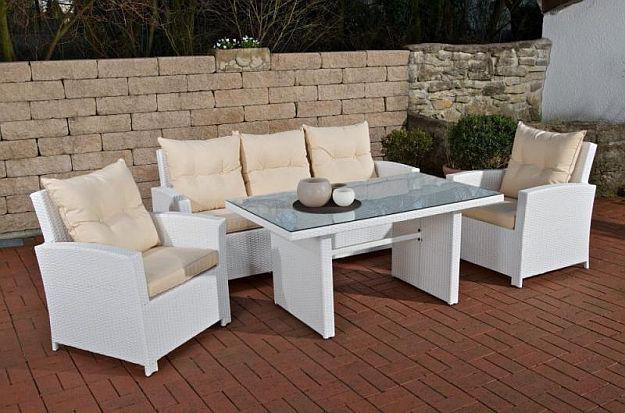 Gartenmobel Aluminium Test : tlg Lounge Sitzgruppe Gartenmöbel Rattan 4 Farben CLFabria
