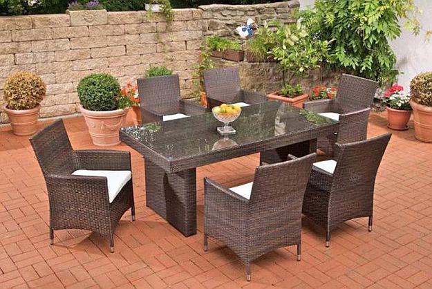 2017 Gartenmöbel Sitzgruppe Rattan Lounge