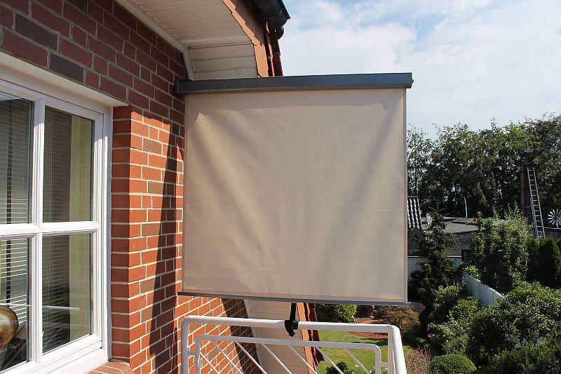 balkon seitenmarkise 2 farben lc bali kaufen bei eh m bel. Black Bedroom Furniture Sets. Home Design Ideas