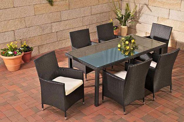 Gartenmobel Aluminium Test : tlg Sitzgruppe Gartenmöbel Lounge Rattan 3 Farben CLFilia  Kaufen