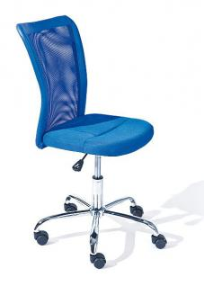 Schreibtischstuhl Kinderdrehstuhl höhenverstellbar 3 Farben Bianca