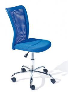 Schreibtischstuhl Kinderdrehstuhl höhenverstellbar 4 Farben Bianca
