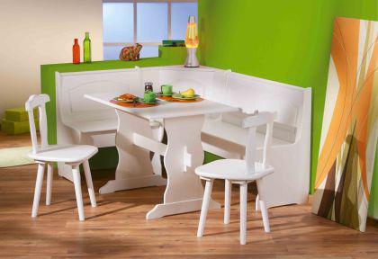 Esszimmer Eckbank Mit Tisch : Esszimmer Eckbankgruppe 4tlg. Eckbank Tisch 2  Stühle Massivholz