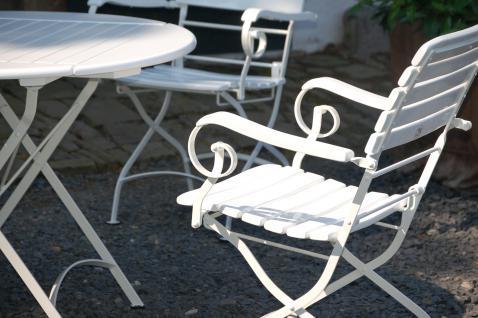 5-teiliges Gartenmöbel Sitzgruppe klappbar Robinie massiv AW-Franko-Set-1 - Vorschau 3