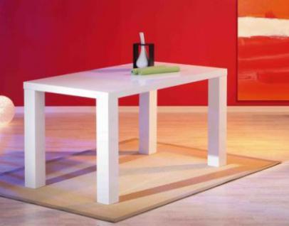 Tisch Esstisch Hochglanz weiß lackiert Guisa