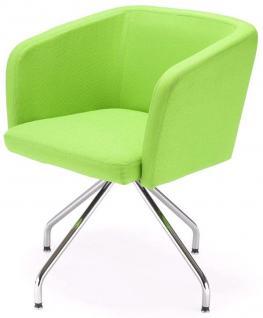 Sessel Lounge-Sessel Objektmöbel schwarz rot grün beige orange NS-Haiti - Vorschau 2