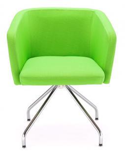 Sessel Lounge-Sessel Objektmöbel schwarz rot grün beige orange NS-Haiti - Vorschau 3