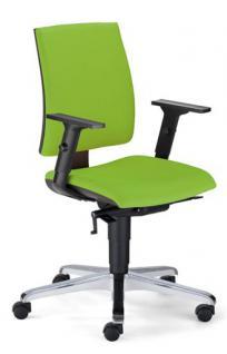 Bürostuhl Objektmöbel Armlehnen schwarz NS-Iowa-A