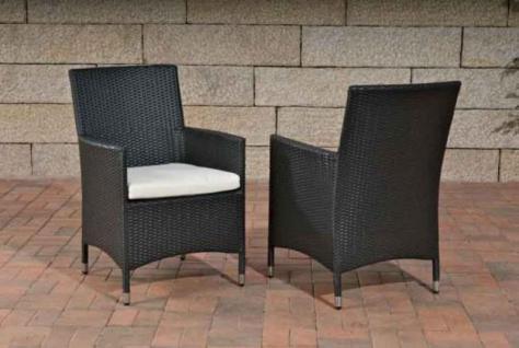 stuhl gartenstuhl lounge kissen rattan 6 farben cl josy. Black Bedroom Furniture Sets. Home Design Ideas