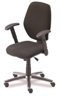 Bürostuhl Drehstuhl Objektmöbel verstellbar schwarz NS-Mexiko