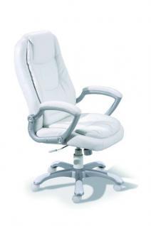 Schreibtischstuhl Bürostuhl weiß Wippfunktion Monto