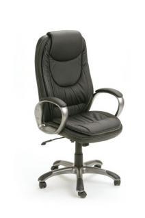 Schreibtischstuhl Bürostuhl schwarz Moni