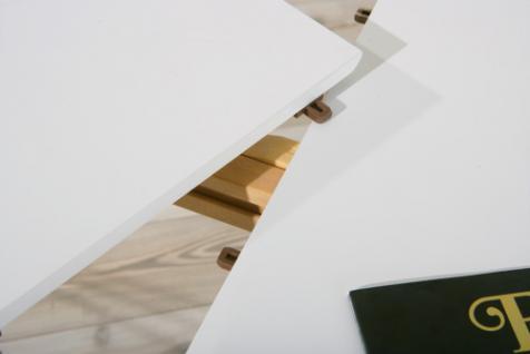 tisch esstisch oval ausziehbar wei oliviero kaufen bei eh m bel. Black Bedroom Furniture Sets. Home Design Ideas