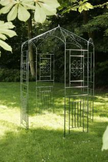 Pavillon Pergola Metall grün CL-Rosi