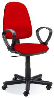 Bürostuhl Drehstuhl höhenverstellbar 20 Farben NS-Patty