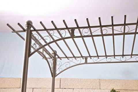 pavillon pergola metall anthrazit cl ulla 1 kaufen bei. Black Bedroom Furniture Sets. Home Design Ideas