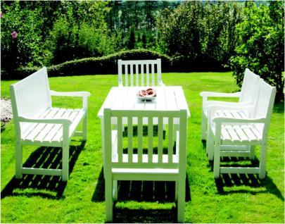 6-teiliges Gartenmöbel Sitzgruppe Mahagoni massiv 3 Ausführungen AW-Rio-Set-1 - Vorschau 3