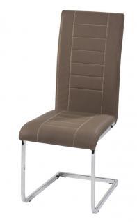 4x Stuhl Freischwinger 5 Farben R-Rika3