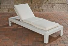 Liege Sonnenliege Auflage Gartenmöbel Rattan 4 Farben CL-Canaria