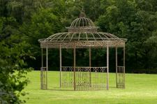 Luxus Pavillon Eisen bronze 2 XL Größen CL-Romana