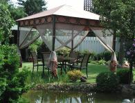 Pavillon 4x Moskitonetz Seitenteile LC-Africa
