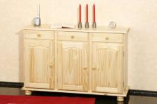 Kommode Sideboard Landhausstil Massivholz Kiefer natur Abba