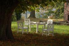 5-teiliges Gartenmöbel Robinie massiv AW-Fiore-Set-1