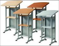 Stehpult Laptop-Tisch 4 Farben-W