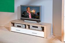TV Lowboard 2 Farben Sonoma-Eiche Wildeiche Aquilla-9/-10