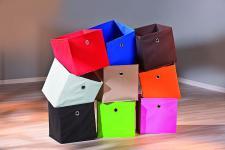 Faltschachtel Faltbox 10 Farben Wicky