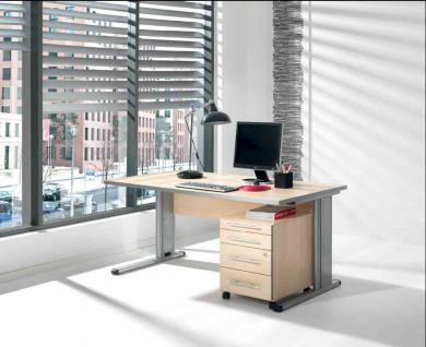 Büromöbel 2-teilig Objektmöbel 4 Farben S-W-6