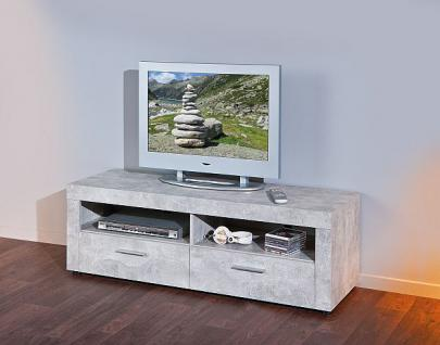 tv lowboard betonoptik 2 farben l brain 6 kaufen bei eh m bel. Black Bedroom Furniture Sets. Home Design Ideas