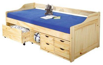 bett massivholz kiefer 2 farben mixi floh kaufen bei eh m bel. Black Bedroom Furniture Sets. Home Design Ideas