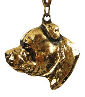 Staffordshire Terrier Bullterier Schlüsselanhänger - Vorschau 1