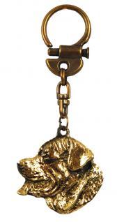 Rottweiler Schlüsselanhänger Anhänger Messing - Vorschau 2