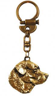 Labrador Schlüsselanhänger Messing - Vorschau 2