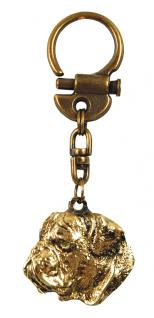 Bulldogge Bulldoggen Schlüsselanhänger Anhänger - Vorschau 2