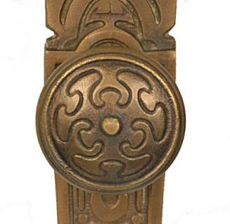 Jugendstil Tür Klinken für antike Türen Bronze Türbeschlag von ROCCOCO - Vorschau 2