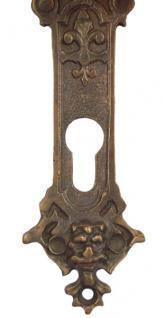 Barock antike Löwenkopf Türklinke Bronze - Vorschau 4