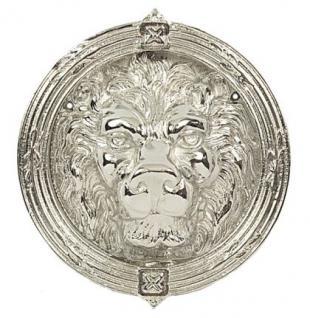 Löwenkopf Türklopfer Messing - Vorschau 1