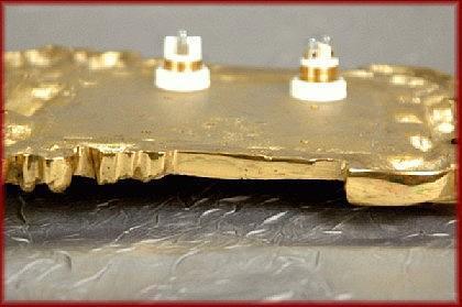Barock antike Klingel Klingelplatte sehr ausgefallen - Vorschau 3